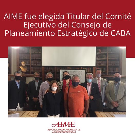 AIME fue elegida Titular del Comité Ejecutivo